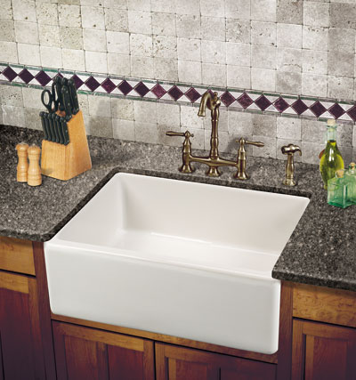 Farmhouse Sinks Are So Named Because They Mimic The Rectangular, Extra Deep  Look And Exposed Front ...