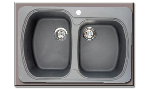 Attractive Composite Sinks