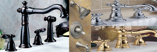delta victorian kitchen and bathroom faucets at dirtcheapfaucets, Bathroom decor